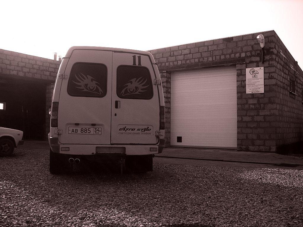Автоматической дверь в газель