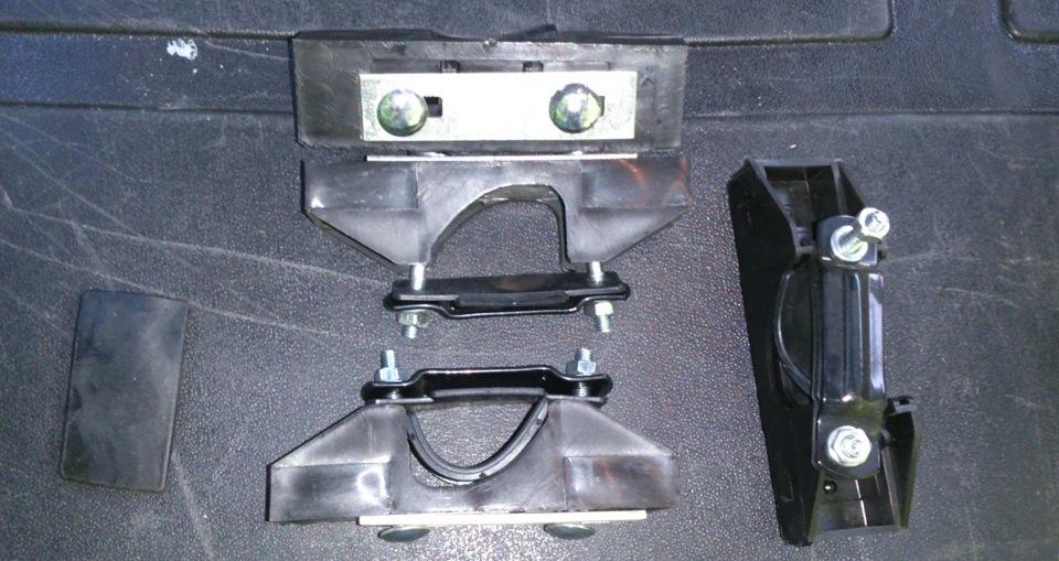 Крепеж для багажника своими руками