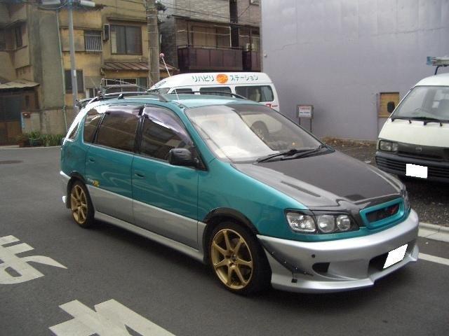 Тойота ипсум фото тюнинг