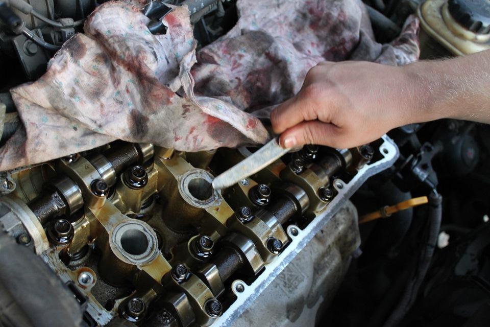 Масло в свечных колодцах. - бортжурнал Chevrolet Lacetti 5D 109 серебряных лошадей 2005 года на DRIVE2