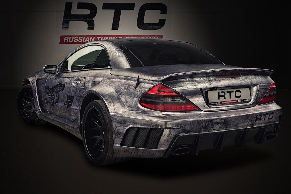 mercedes benz sl500 rtc russian tuning pany on drive2 Mercedes-Benz Minivan