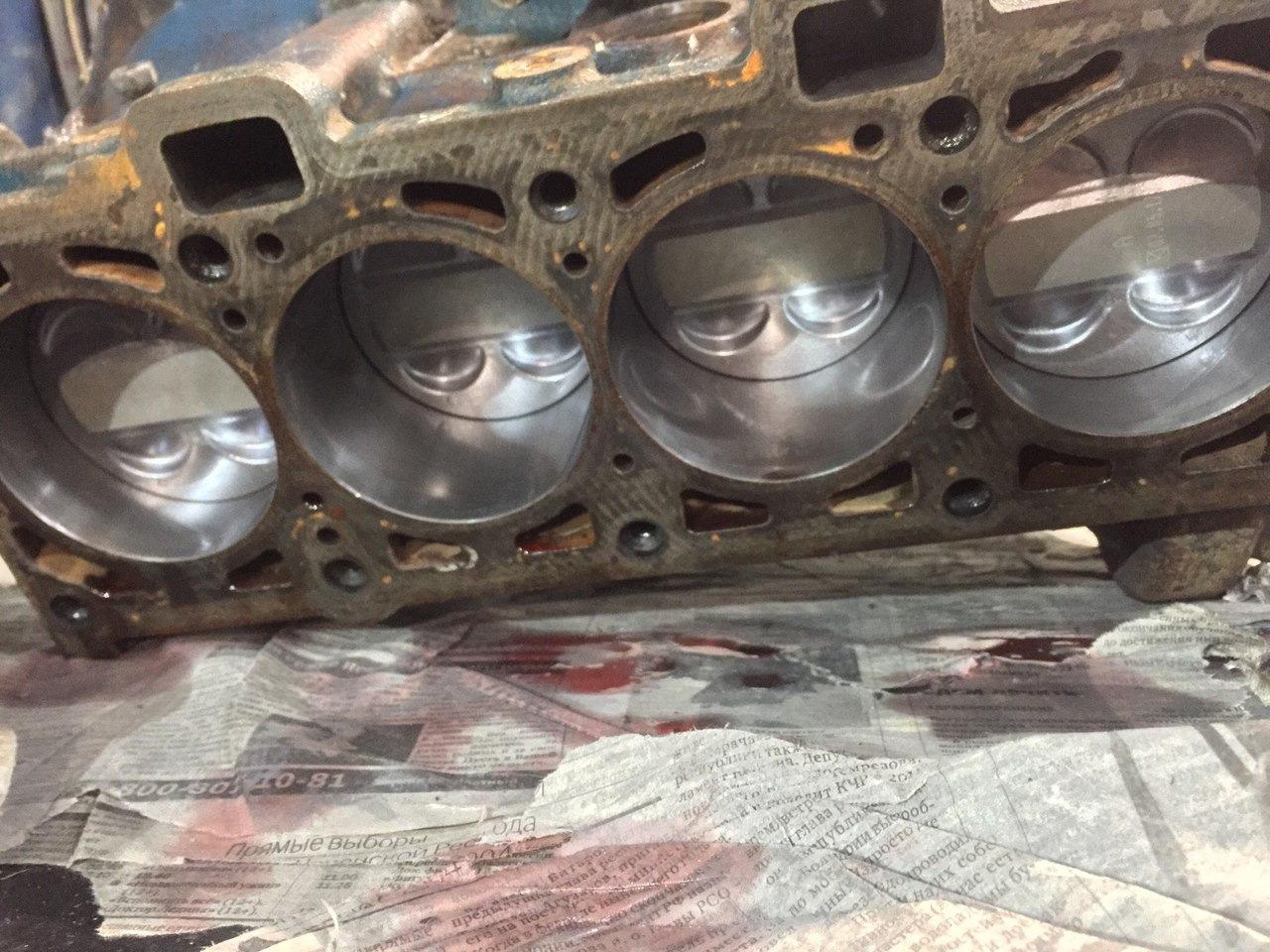 Переборка двигателя приора