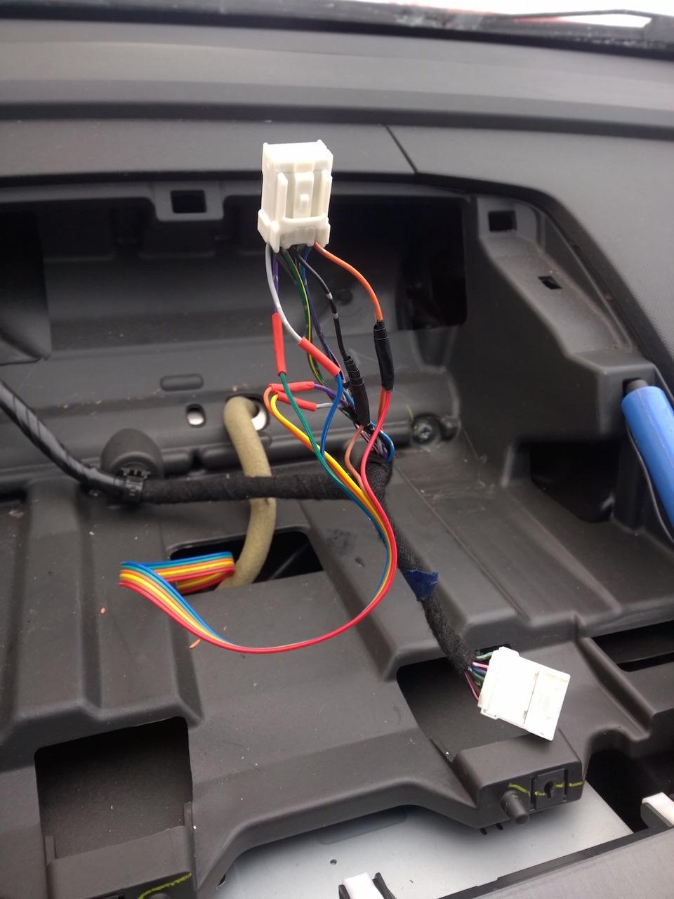 электрическая схема подключения парктроника паркмастер