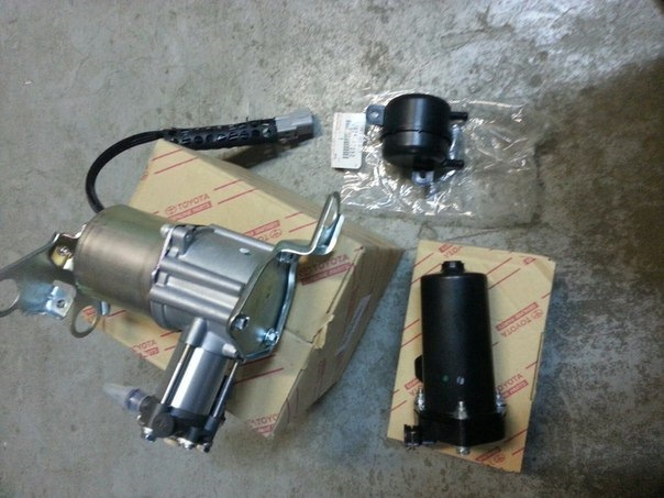 Spare pneumatic suspension Lexus GX460 / 470 prado120 / 150