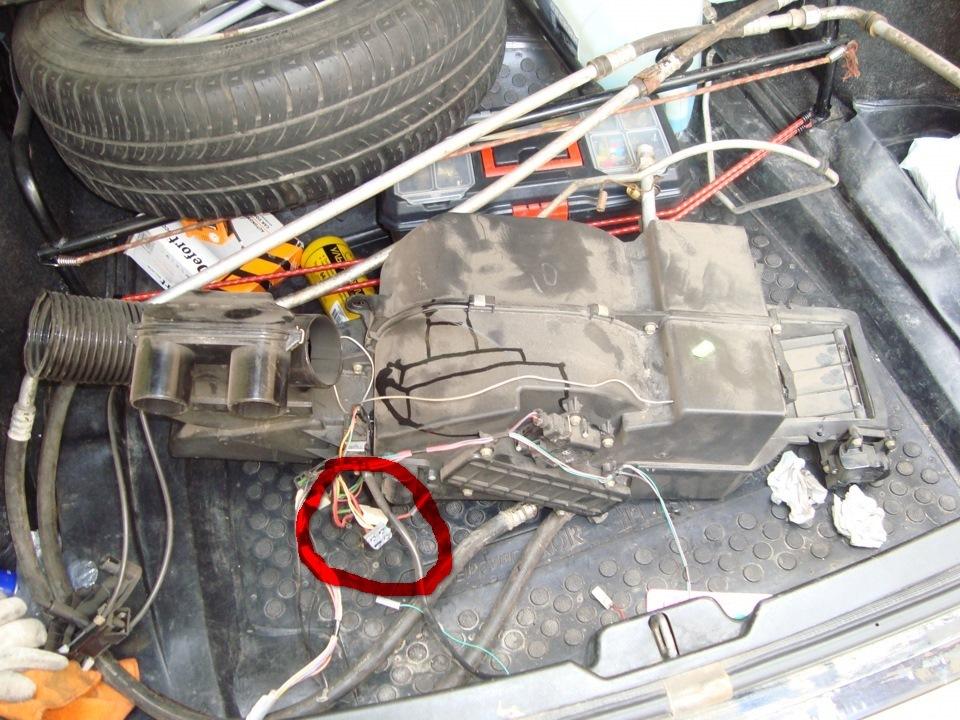 Схема подключения моторчика печки фото 335