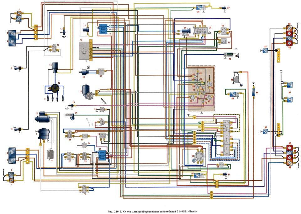 Схема подключения генератора в