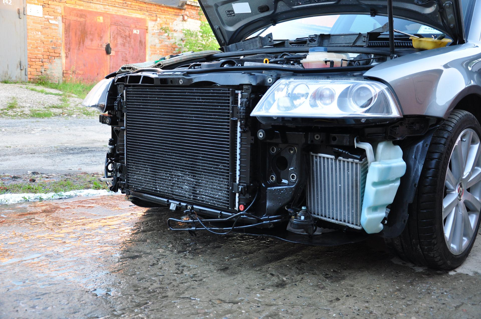 фотографии радиаторов автомобиля был уверен, что