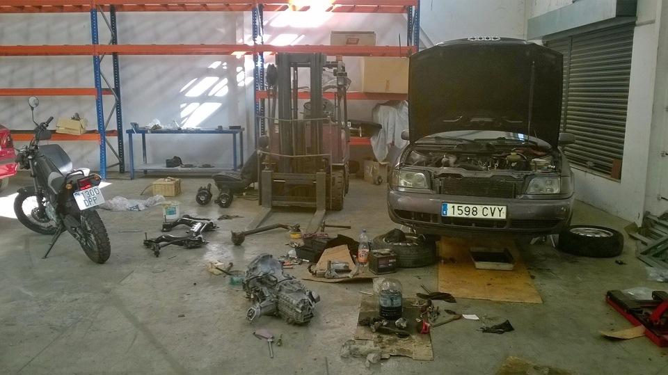 Audi A6 Avant 1.9tdi grande, bajo, pesado y lento de Sevilla 1dd0fcas-960