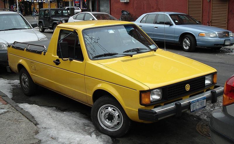 У Volkswagen появился пикап-трансформер 91
