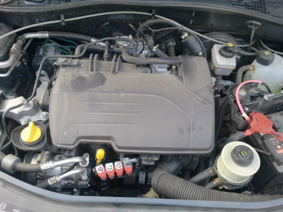 renault sandero с двигателем 1.2