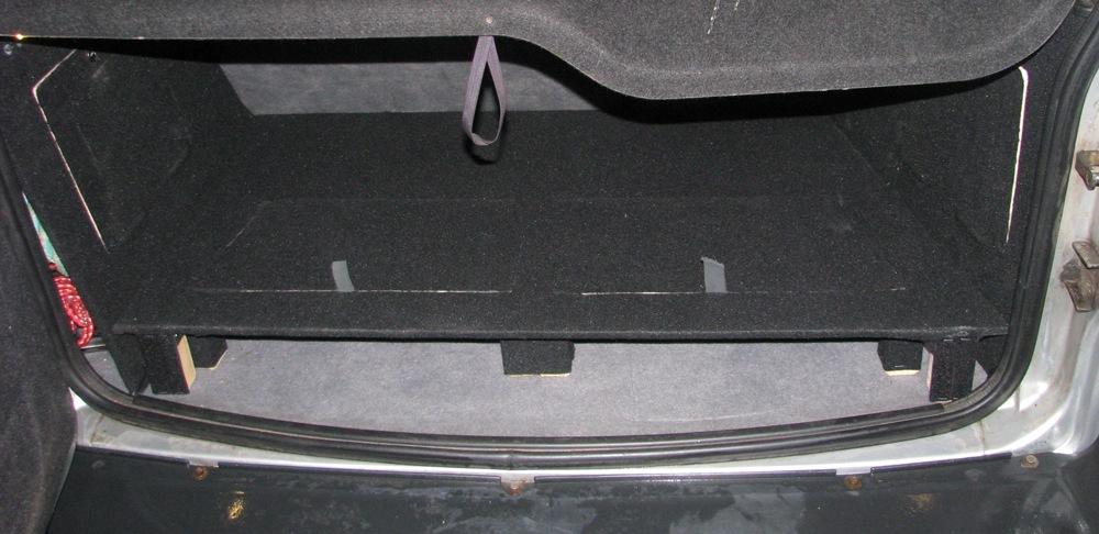 Багажник шевроле нива своими руками