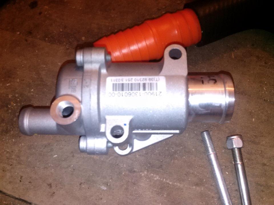 Фото №22 - установка термостата от гранты на ВАЗ 2110