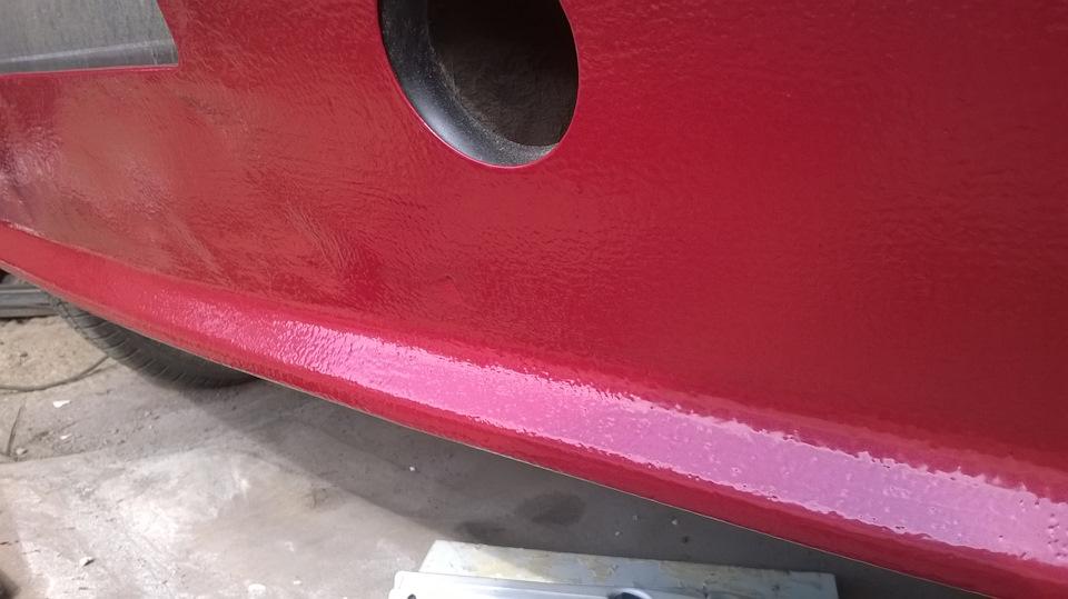 Покраска ворот автомобильной краской