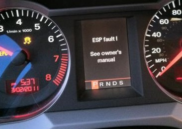 Ошибка ESP, дроссельная заслонка и другие приключения — Audi Allroad