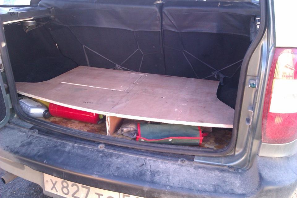 Как сделать багажник на шевроле-ниву