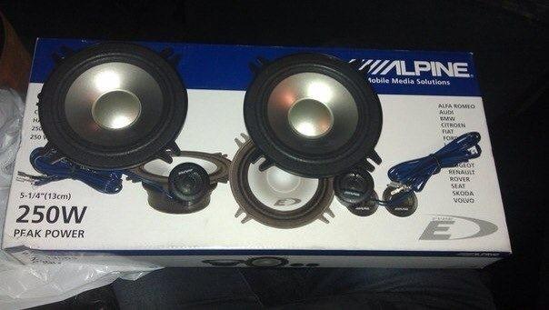 Alpine SXE 1350 S Car Loudspeaker