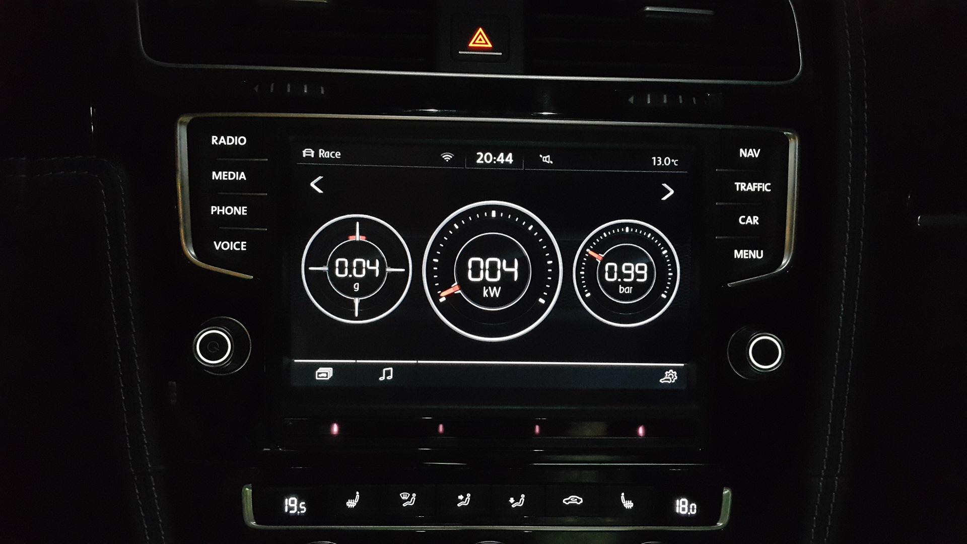 Апгрейд MIB1 на MIB2 — Volkswagen Golf R, 2 0 л , 2014 года