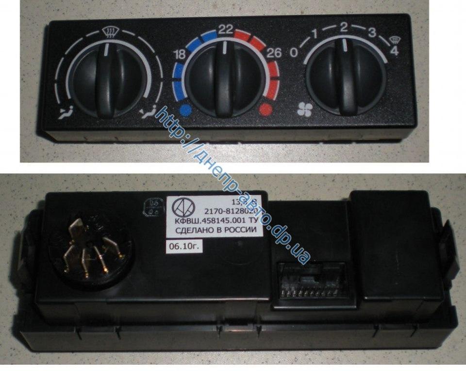 960 - Схема управления печкой приора