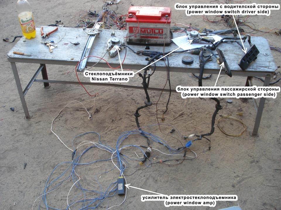 электро-стеклоподъёмников