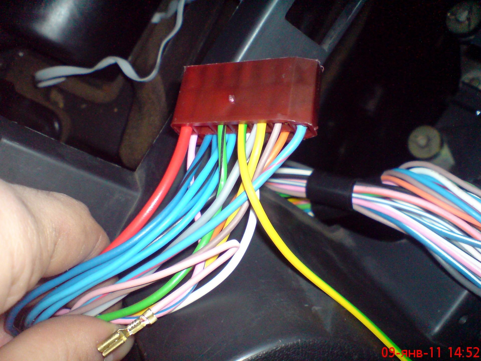подключение инжектора ваз 2109 простая схема