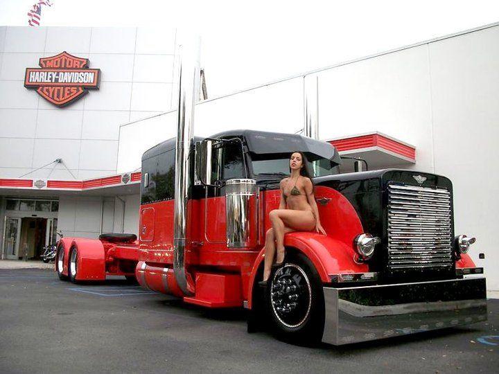 trucks girls nude Semi and