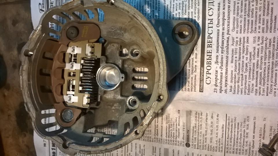 Ремонт генератор мазда своими руками