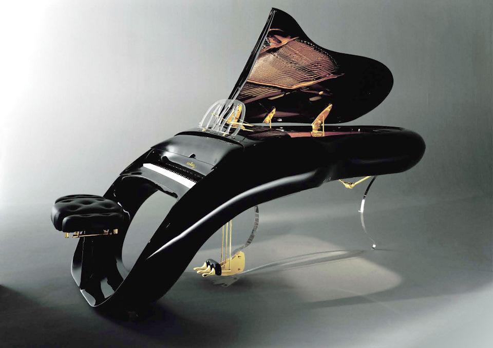 дизайн рояля