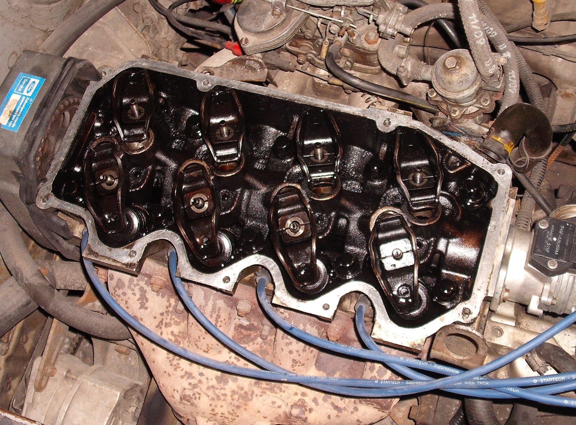 Ford Escort | Замена гидрокомпенсаторов зазоров в ...
