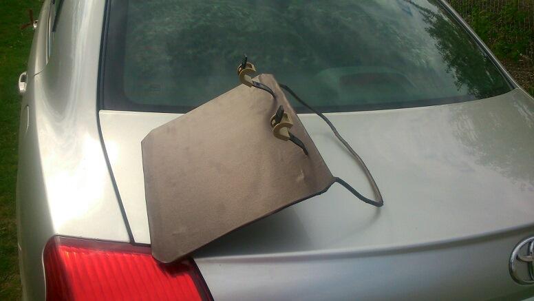 Автомобильная подставка своими руками