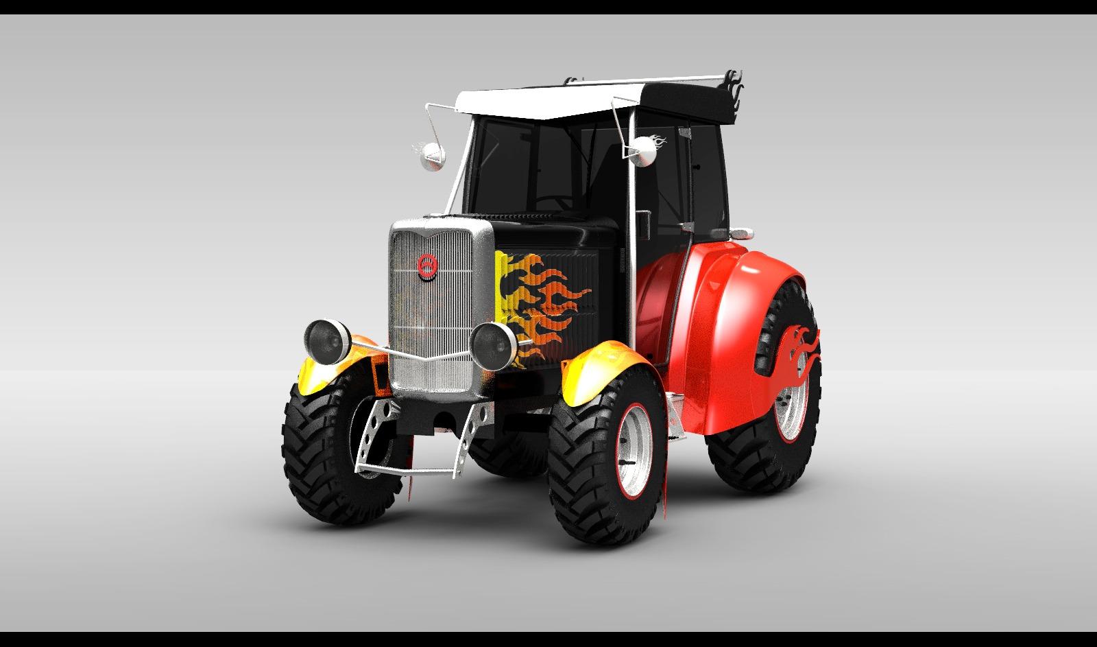 клуб тюнинг тракторов картинки если