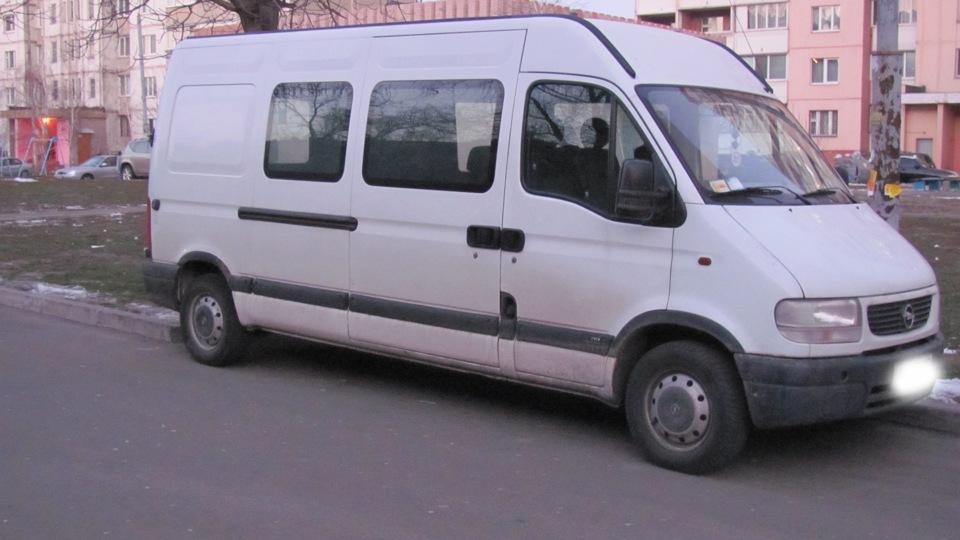 рено микроавтобус