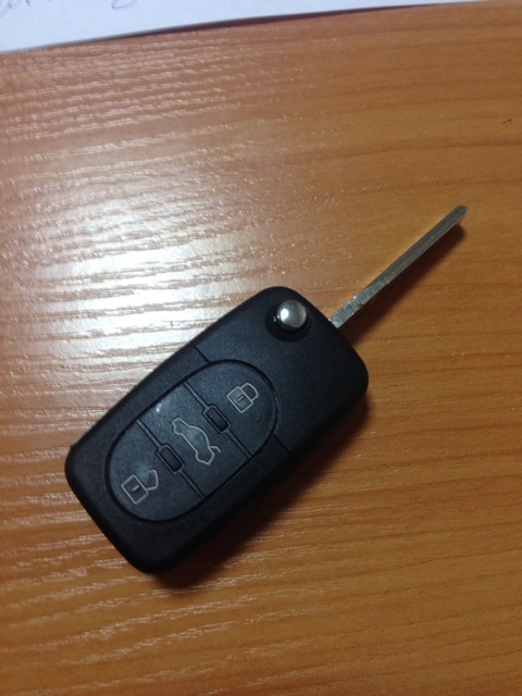 Как в ауди прописать ключ