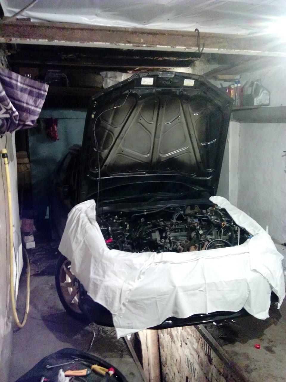 схема меток ремня грм двигатель ф23а