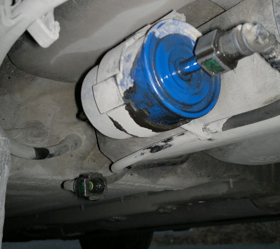 Замена топливного фильтра на рено меган 2