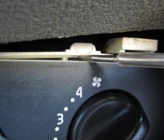 фотоотчет снятие блока управления печки renault symbol