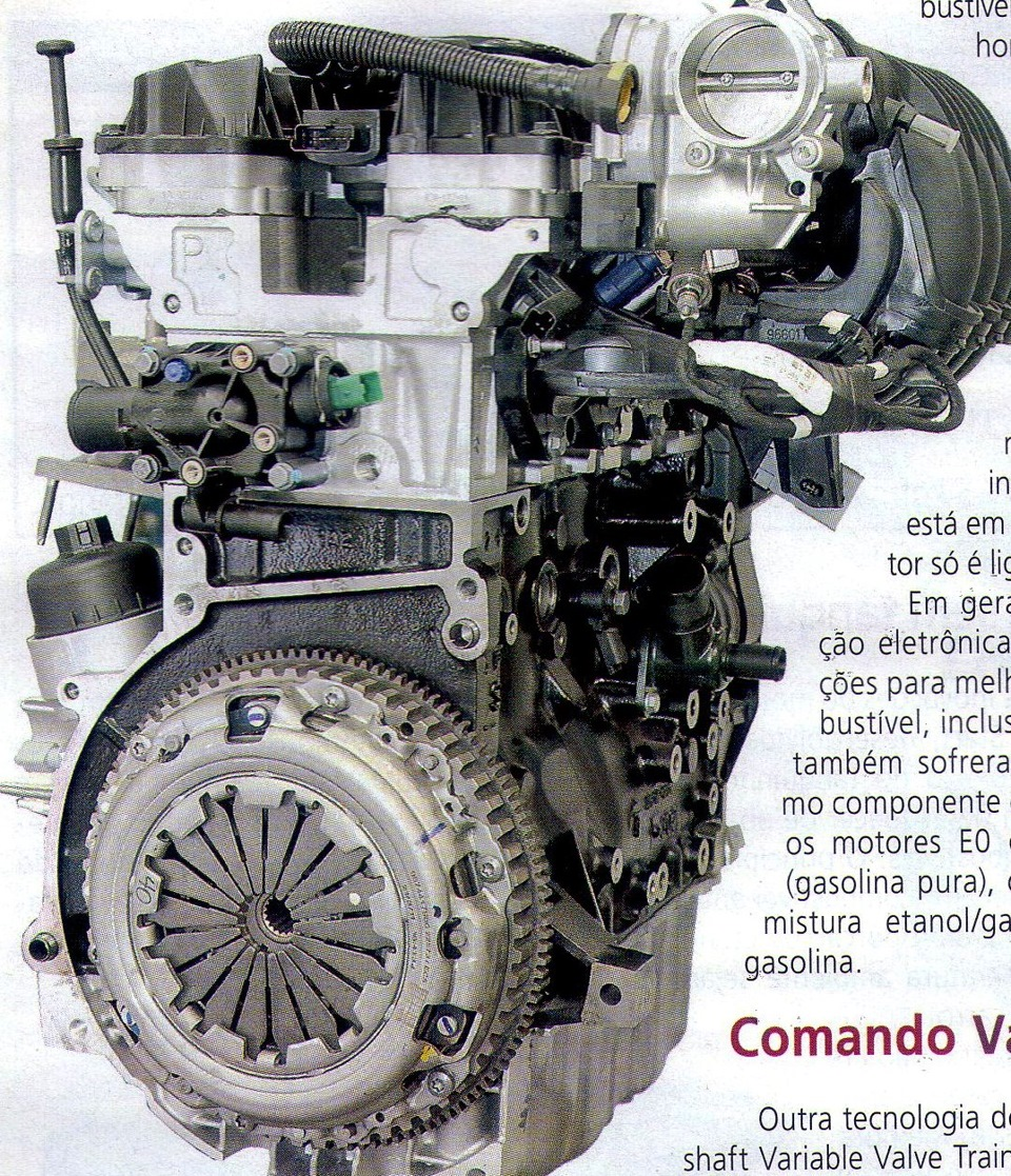 фото двигатель шевроле нива