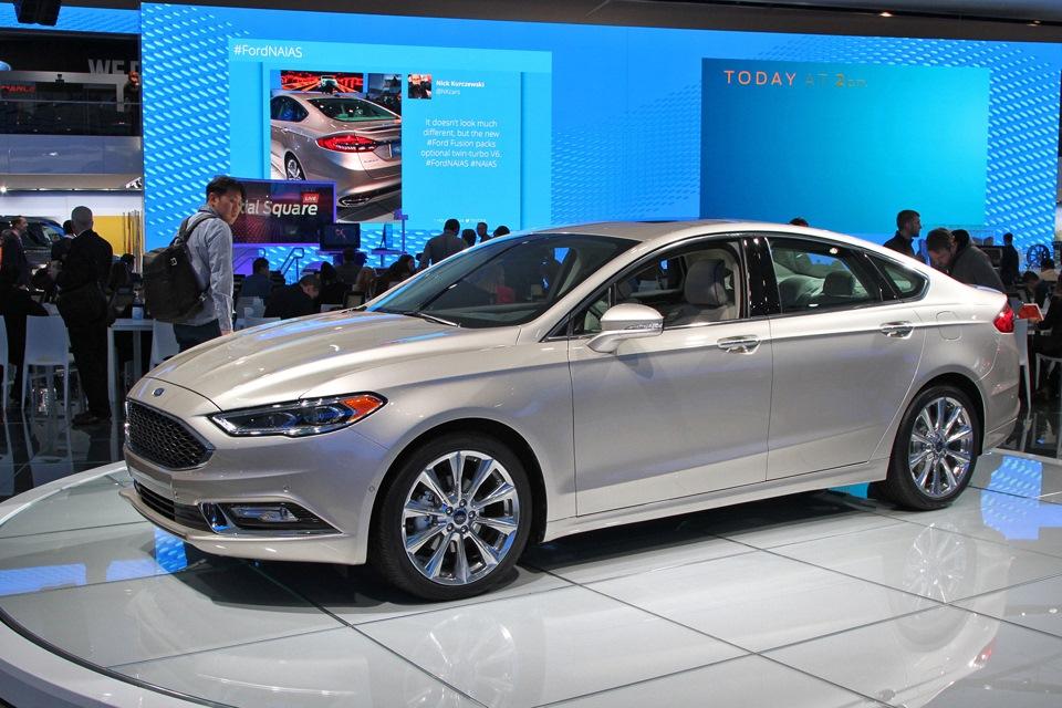 Новый форд мондео новый 2017 год