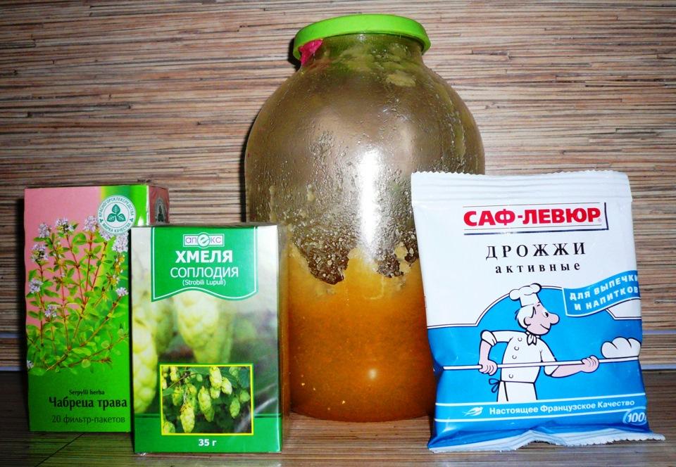 Рецепты домашних дрожжей
