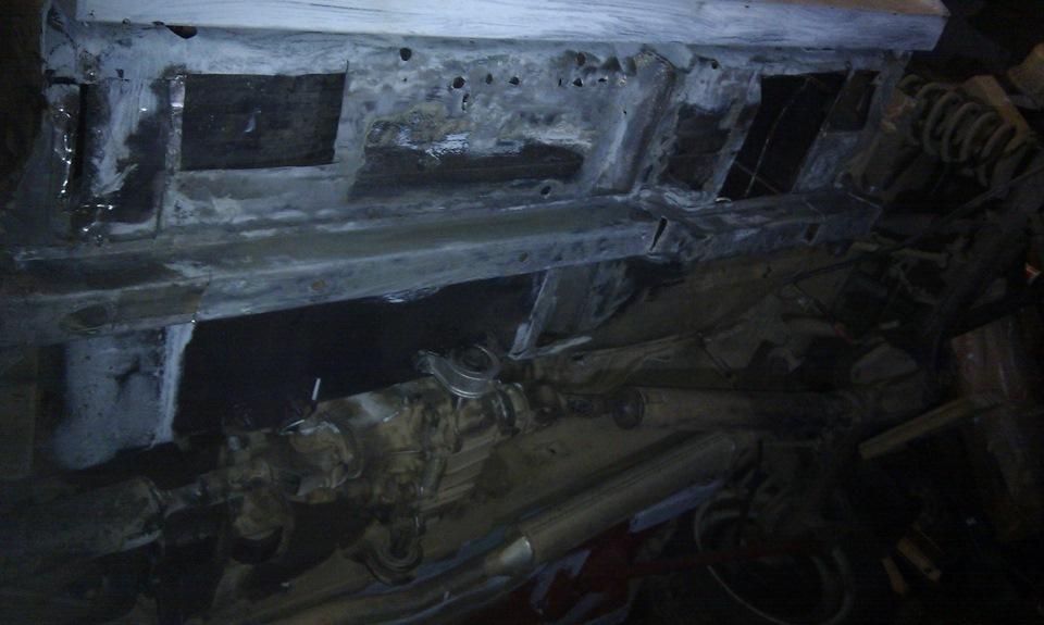 Кузовной ремонт 21213 своими руками 31