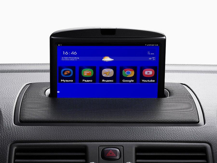 Установка планшета в автомобиль вместо магнитолы