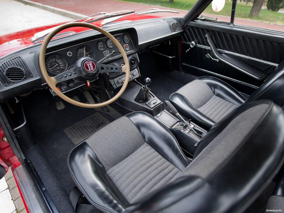 фиат 124 купе фото двигатель