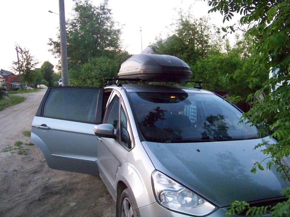 бокс на крышу ford s max