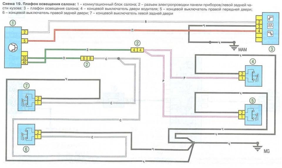 Оригинальная схема подключения
