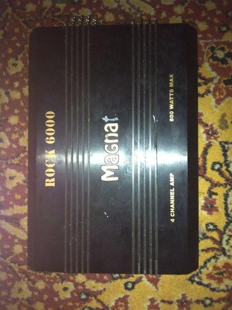 Усилитель Magnat Rock 6000 Инструкция