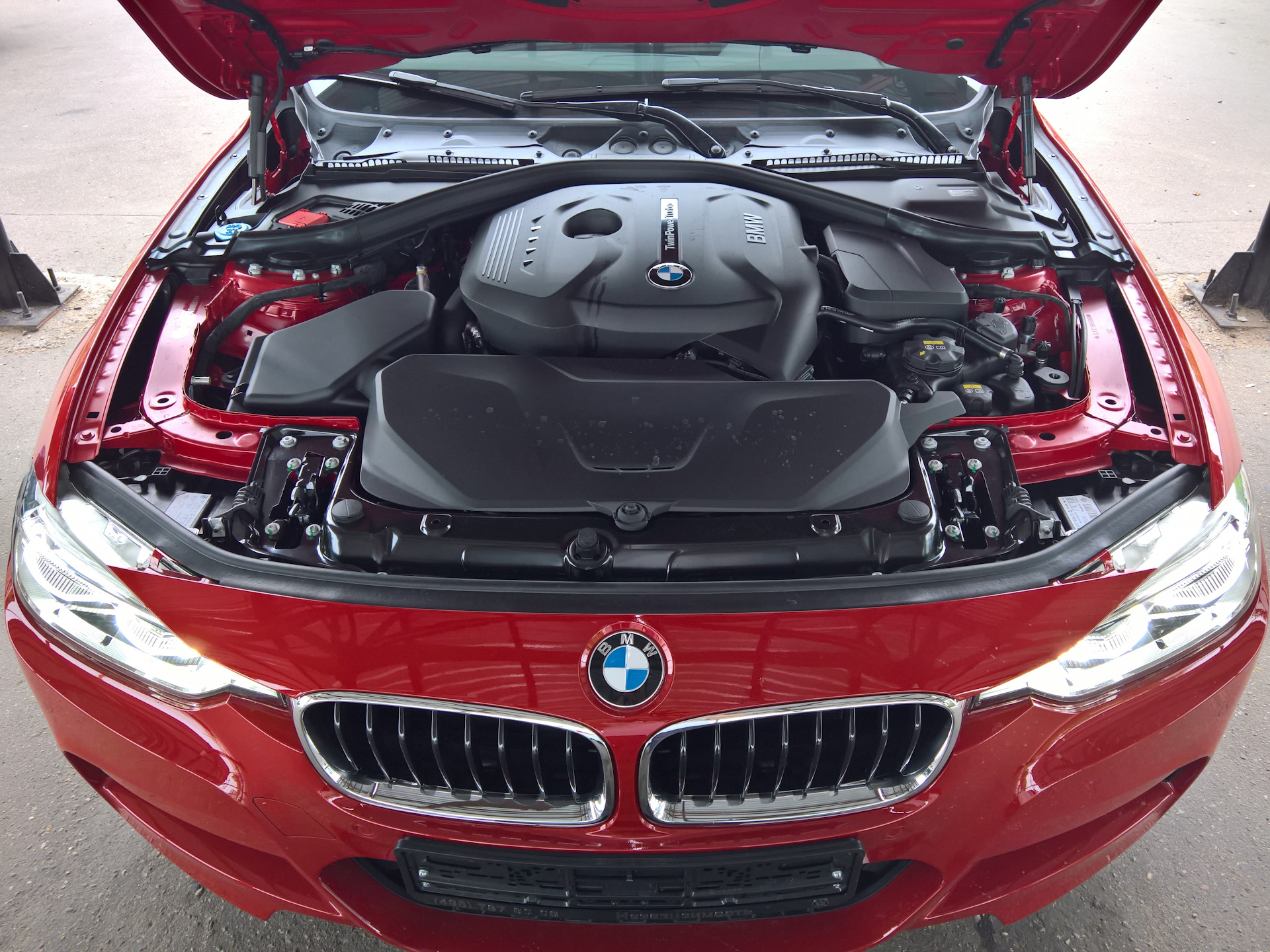 3 Мотор B48 Twinscroll — BMW 3 series, 2 0 л , 2016 года на