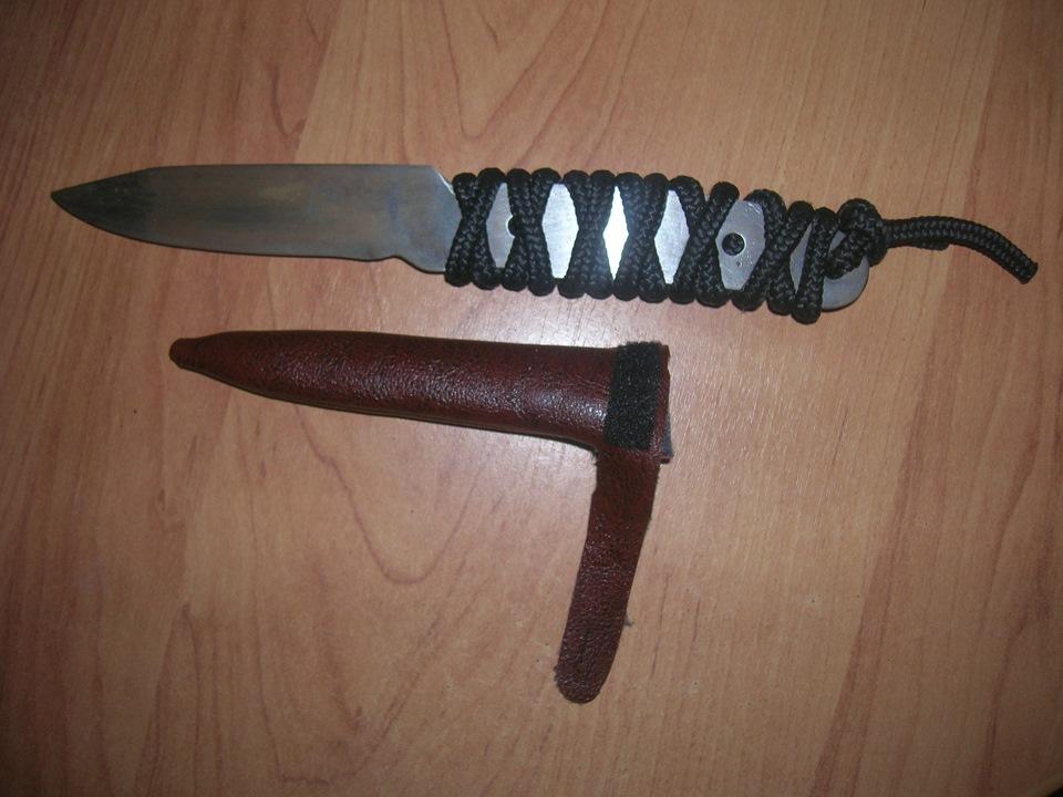 Как сделать кобуру для ножа