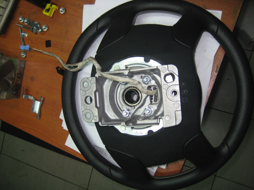 диаметр рулевого колеса ситроен с5 1