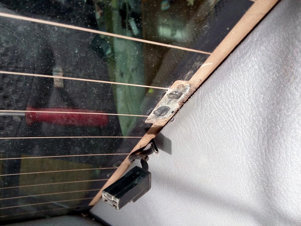 Ремонт подогрева заднего стекла - бортжурнал Hyundai Accent Тагаз 12V 2006 года на DRIVE2