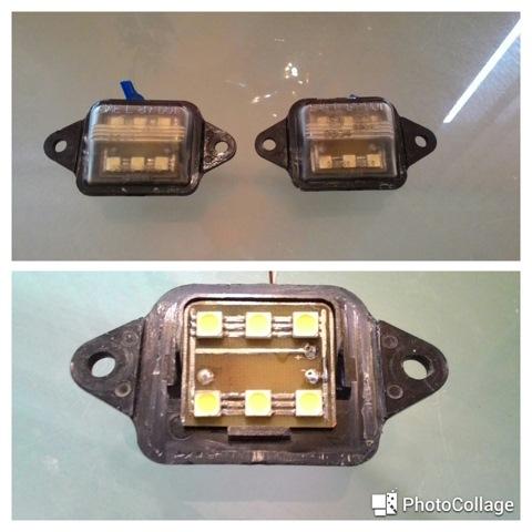 светодиоды в подсветку номера BMW e60