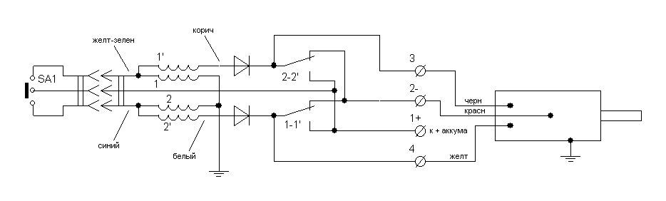 Полная схема подключения T-MAX